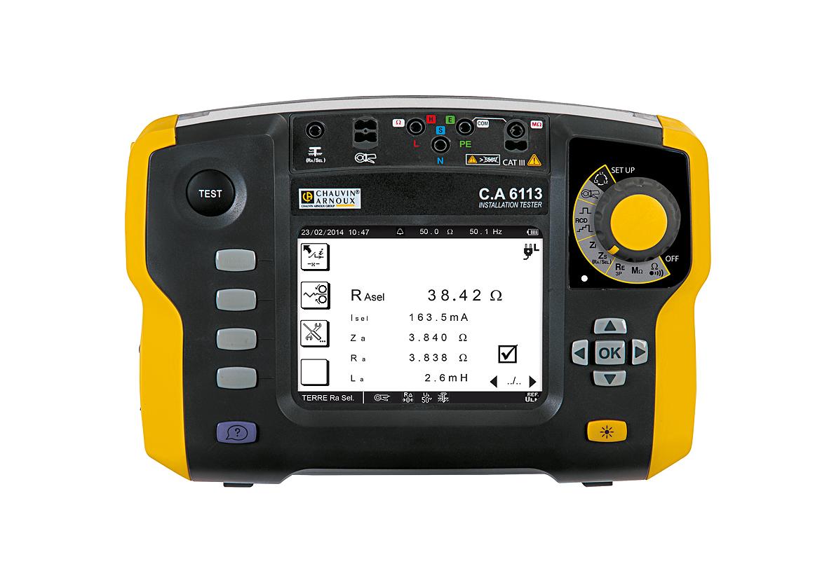 产品特点:    多功能电气安装测试仪集所有电气测试功能于一身,以其卓越的测试性能,友好的人体工程学设计,提供前所未有的简单、快速以及智能化的电气测试解决方案。    符合国际标准的低电压电气装置测试与检验(IEC60364-6,国际GB/T 16895.23低压电气装置-第6 部分:检验等同采用)    适用于所有类型的系统接地形式(TT,TN,IT)    卓越的测量稳定性,在工业环境中各种干扰的影响下依然可靠    回路电阻测量可达1m    黑白屏幕 产品应用:    在居民用电